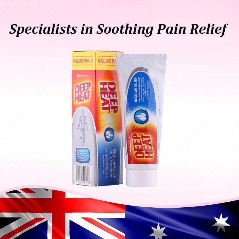 Kem Xoa Bóp Deep Heat Regular Relief 50g Hàng Nhập Úc