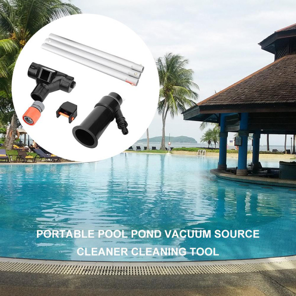 Swimming Pool Jet Vacuum With Pole Vac Suction Hoover Cleaning Tool Spa fountain
