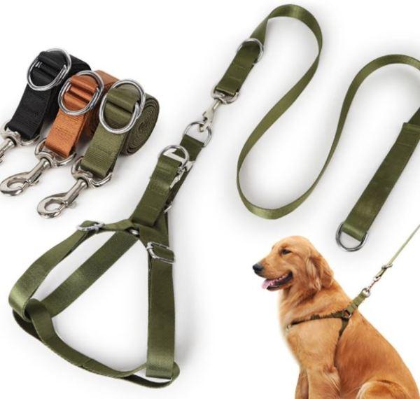 Bộ yếm dây cho chó (bao gồm dây)