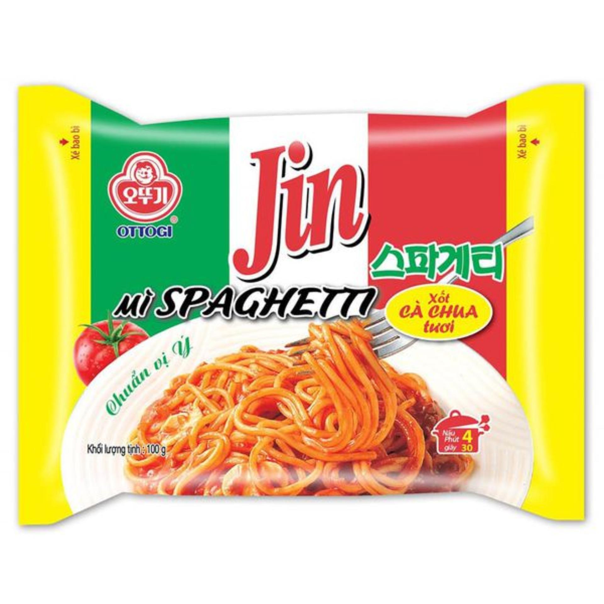 Mì Ottogi Spaghetti xốt cà chua tươi VN 100gr