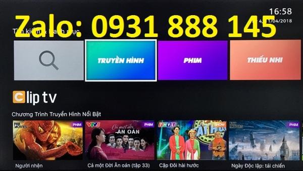 Bảng giá Cliptv Gói gia đình 1 năm - Chính chủ đăng ký bằng số điện thoại - Không xem được 1 số kênh quốc tế và K+ Điện máy Pico