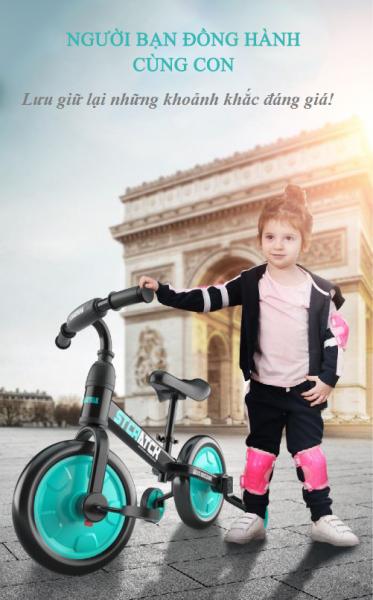 Phân phối Xe đạp thông minh 4 in 1 dành cho các bé- bạn đồng hành của bé trong những năm đầu đời