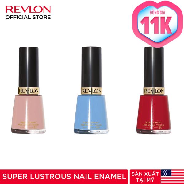 Sơn móng tay Revlon Nail Enamel (Màu ngẫu nhiên - HSD tối đa 1 năm) giá rẻ