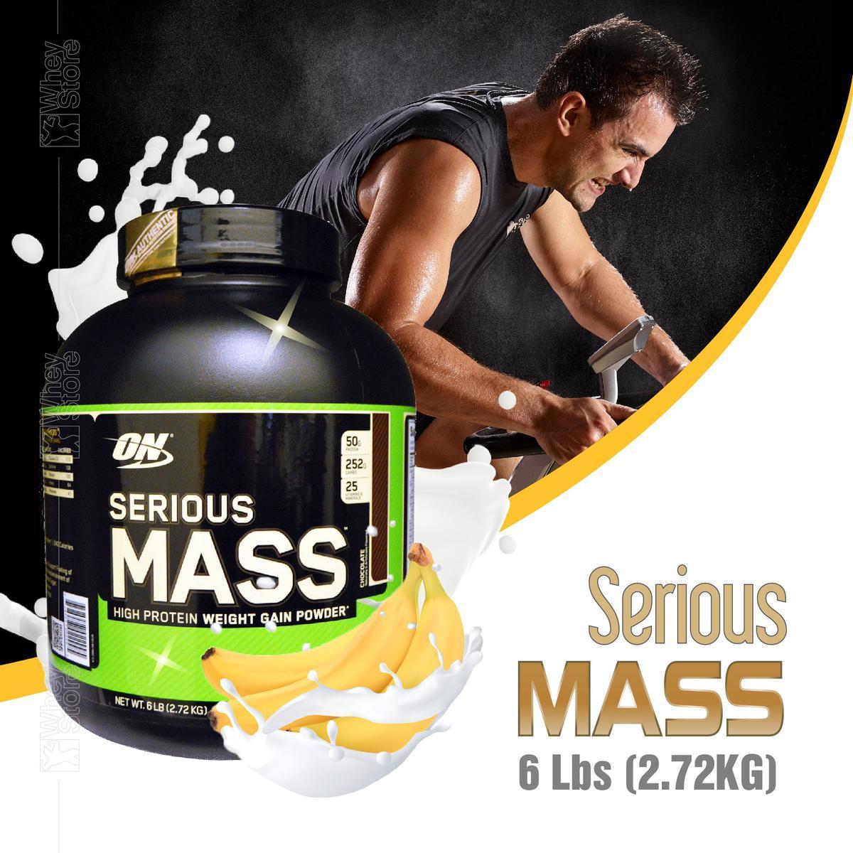SERIOUS MASS 6 LBS (2.72KG) CHOCOLET nhập khẩu