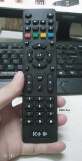 Điều khiển-Remote Đầu thu K+ HD Chảo mẫu mới nhất 2019 - Điều khiển-Remote k+ thumbnail