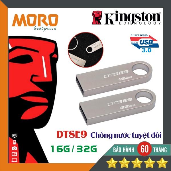 Bảng giá [Chống nước] USB 3.0 Kingston DTSE9 16GB/32GB - Chất liệu kim loại - Bảo hành 5 năm Phong Vũ