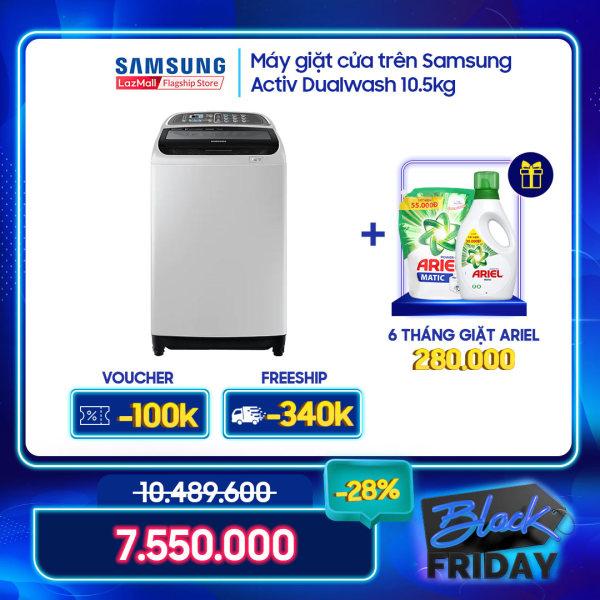 Bảng giá Máy giặt cửa trên Samsung Activ Dualwash 10.5kg – WA10J5750SG Điện máy Pico