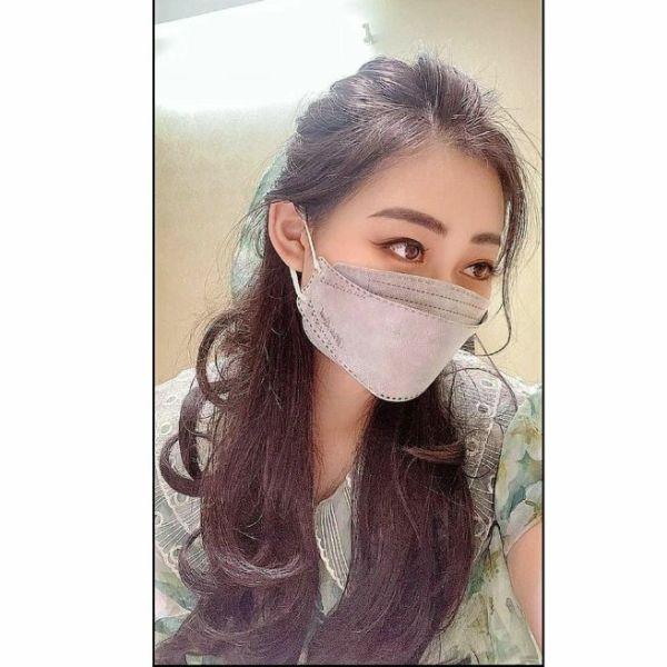 Giá bán ( XÁM ) 1 Túi 6 Chiếc Khẩu Trang 3D Land Mask Kiểu Hàn Quốc KF94