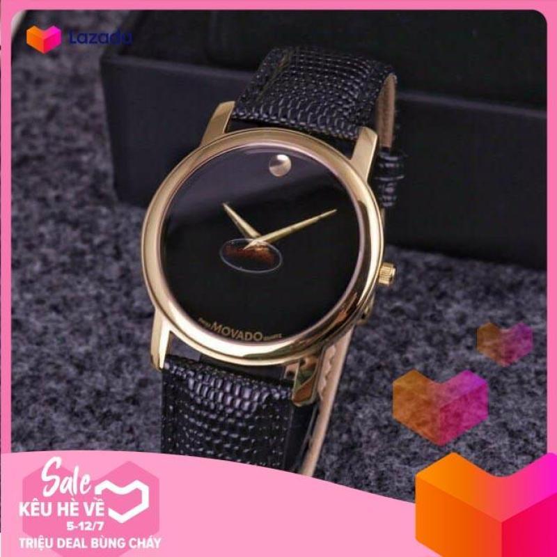 Nơi bán [Mid-year] Đồng hồ M0VAD0 nữ kính Saphire, chống nước, tặng 2 pin thay thế