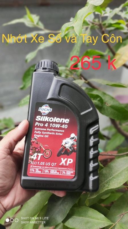 Nhớt Fuchs Silkolene Pro 4 10W40 XP 1L
