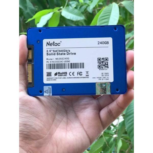 Bảng giá Ổ cứng SSD 240G Netac - Bảo hành 36 Tháng - Bảo hành cả cháy nổ , 1 đổi 1  lỗi đổi mới sản phẩm  ( Dùng cho Laptop - máy tính bàn ) Phong Vũ