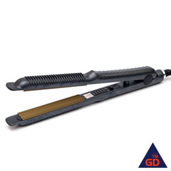 Máy là tóc cao cấp 5 mức nhiệt 838/388 màu đen Thông Minh Đa Năng