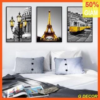 Tranh treo tường 3 bức phong cách hiện đại - phong cách Bắc Âu GG41A thumbnail
