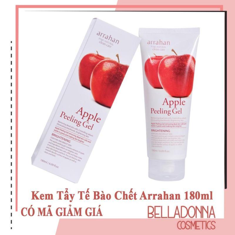 Kem Tẩy Tế Bào Chết Và Dưỡng Trắng Da Arrahan Pure Natural Clean Care Apple Peeling Gel 180ml nhập khẩu