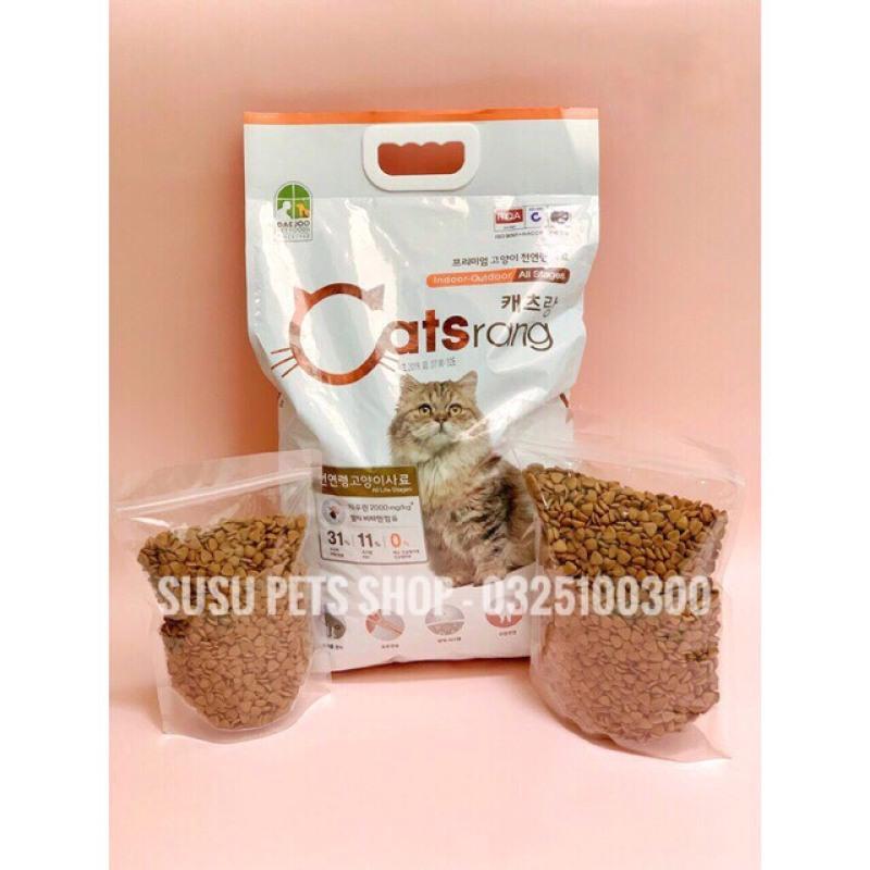 Thức Ăn Hạt khô cho Mèo Hàn Quốc Catsrang 1kg (túi chiết)