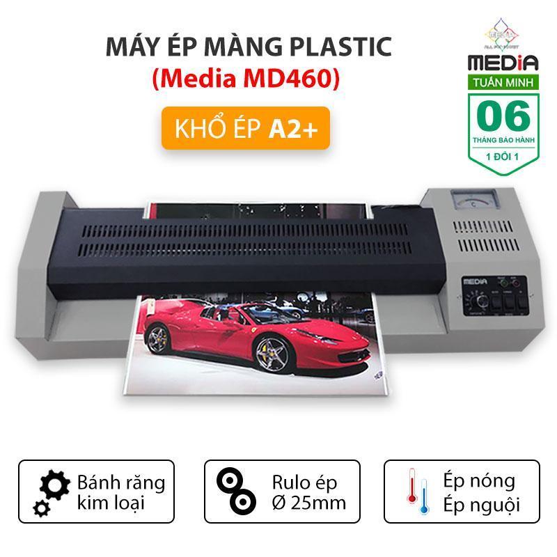 Máy Ép Màng Plastic Media MD460 Khổ A2 - Rulo 25mm