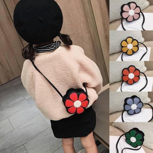 Giá bán Túi đeo hình Hoa siêu xinh cho bé gái