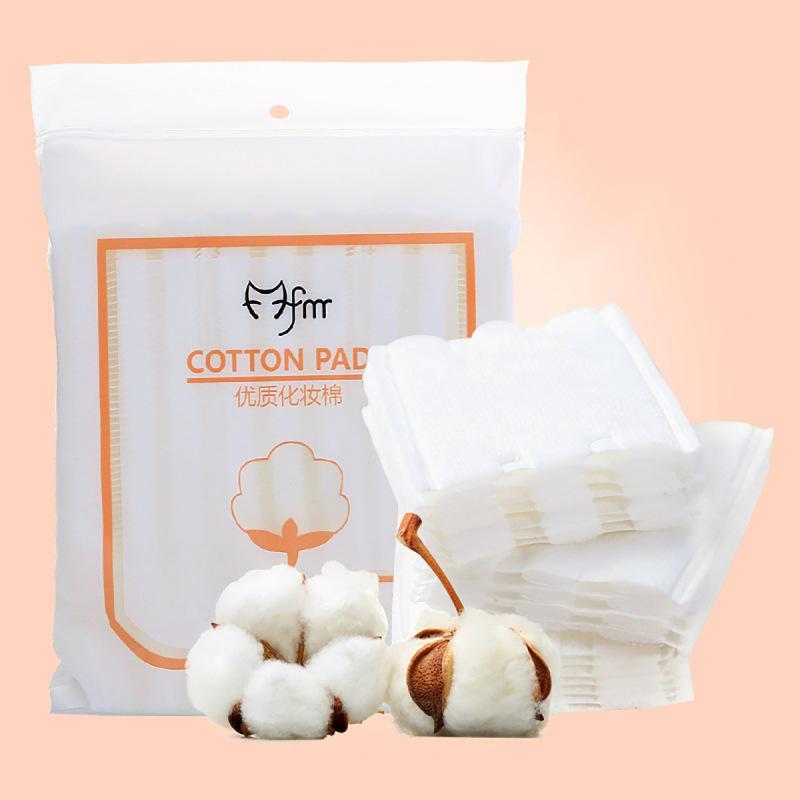 [Túi 222 Miếng] Bông Tẩy Trang Pads 3 Lớp Chất Cotton Cao Cấp