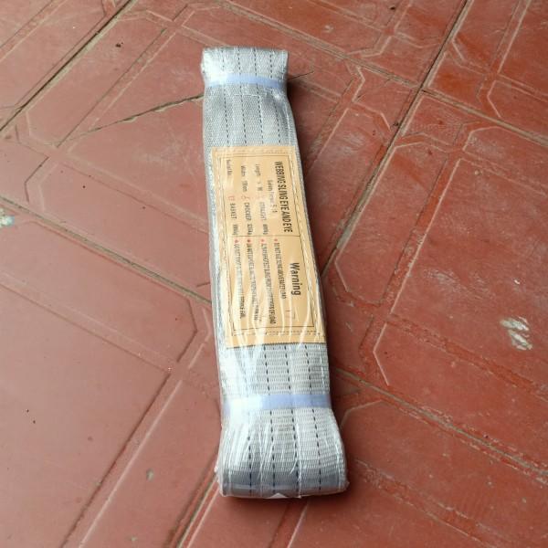 Dây cáp vải cẩu hàng Dây cáp cẩu chịu tải 4 tấn dài 6 mét bản rộng 100mm