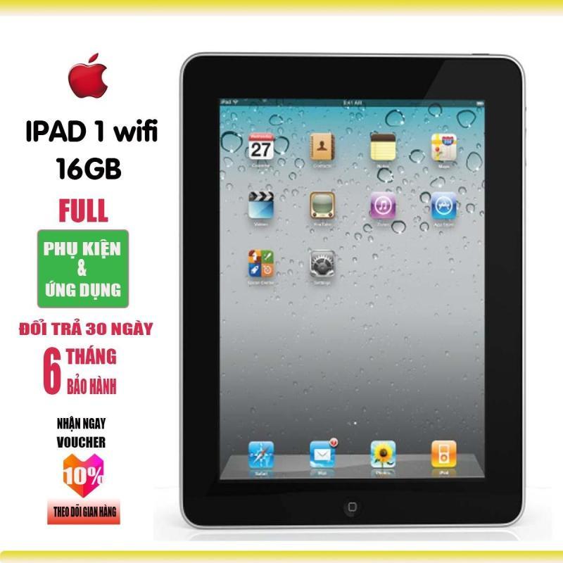 Máy tính bảng iPAD1 - 16GB - Bảo hành 6T - Full ứng dụng - Full phụ kiện - Everything Store