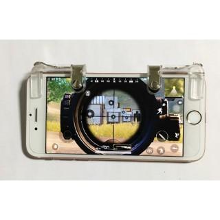 Bộ 2 Nút Bấm Cơ K01 Kim Loại Trong Suốt Hỗ Trợ Chơi Game PUBG Mobile Ros Mobile 3