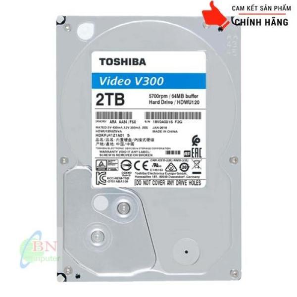 Bảng giá Ổ Cứng HDD Toshiba 2TB AV Hàng Chuyên Dụng Dành Cho Camera Phong Vũ