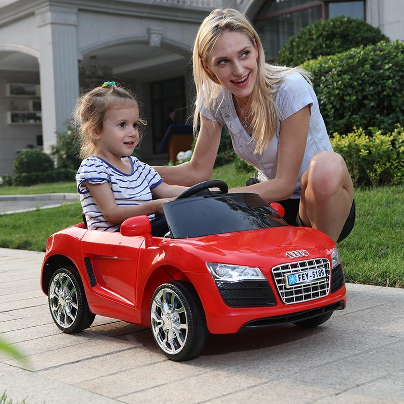 Xe ô Tô điện Trẻ Em MODEL FEY-5189 Cho Trẻ Từ 1-5 Tuổi + Chế độ Tự Lái Và điều Khiển Từ Xa Giá Ưu Đãi Nhất