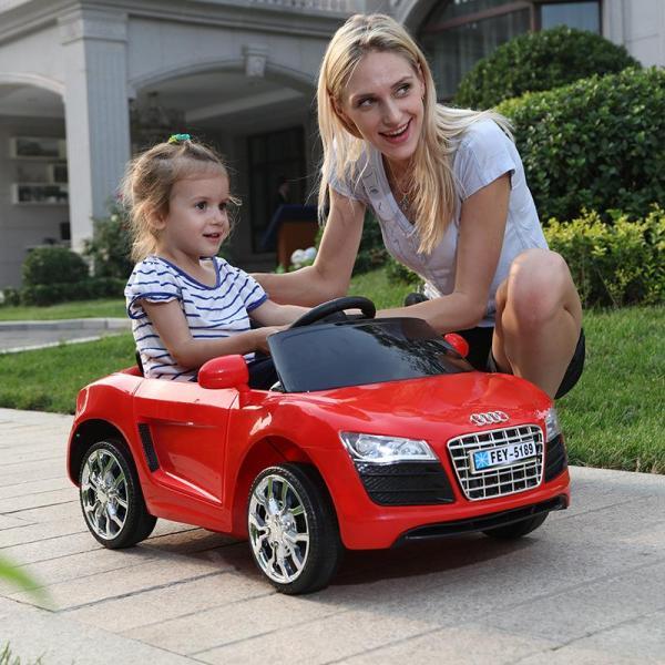 Xe ô tô điện trẻ em MODEL FEY-5189 cho trẻ từ 1-5 tuổi + Chế độ tự lái và điều khiển từ xa
