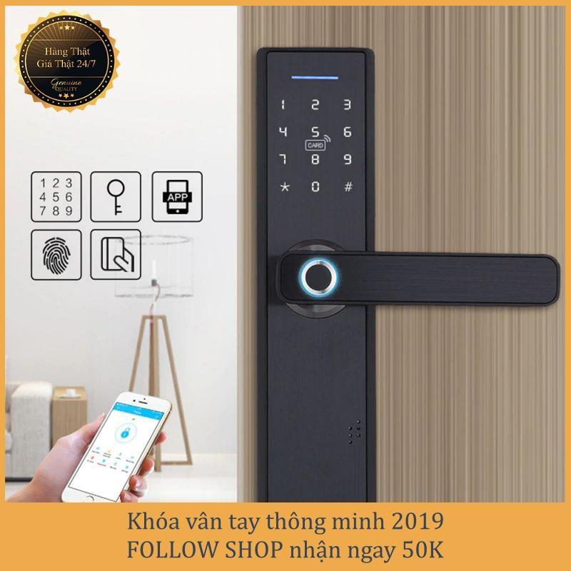 [APP iOS/Android tiếng Việt] Khóa vân tay - Khóa cửa vân tay - Khóa cửa thông minh 2019 - Bảo hành 12 tháng - Hỗ trợ lắp đặt và cài đặt