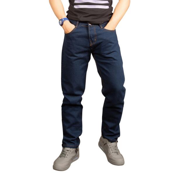 Quần jean nam ống rộng Q63 dáng suông không co giãn