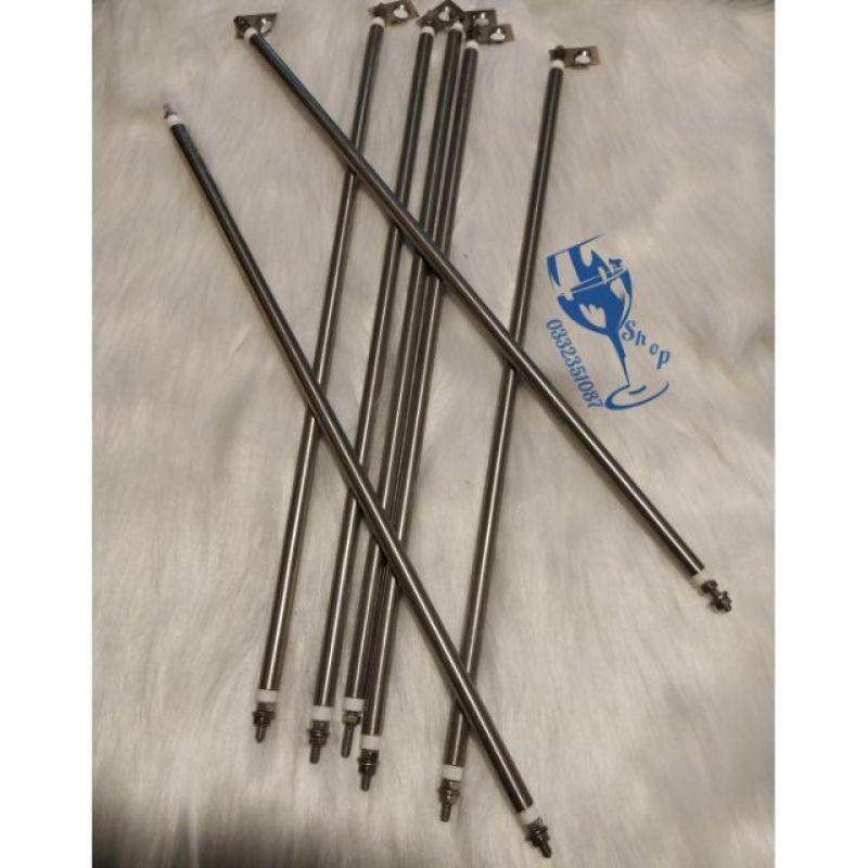 Bảng giá Thanh nhiệt - thanh điện trở của lò nương ống 8 điện áp 110V-200V các cỡ