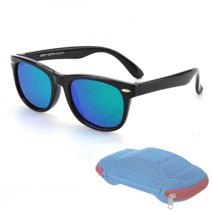 Mua Kính Mát Trẻ Em Cho Bé Trai Bé Gái Thời Trang Eyewares Lớp Phủ Ống Kính UV Bảo Vệ 400
