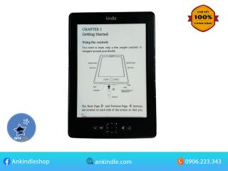Máy đọc sách Amazon Kindle Basic 5th - không đèn nền, có nút lật trang thumbnail