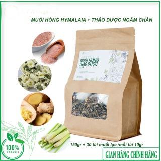Muối Hồng Hymalaia + Thảo Dược Ngâm Chân - Giúp thư giãn, ngủ ngon, giảm nhức mỏi, trị hôi chân- Sản phẩm muối hồng Hymalaia và Thảo dược 100%- ATZ Organic - Hàng chính hãng thumbnail