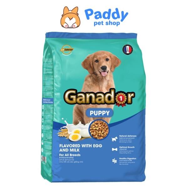 [3kg] Thức ăn chó nhỏ - Ganador Puppy - EGGS & MILK