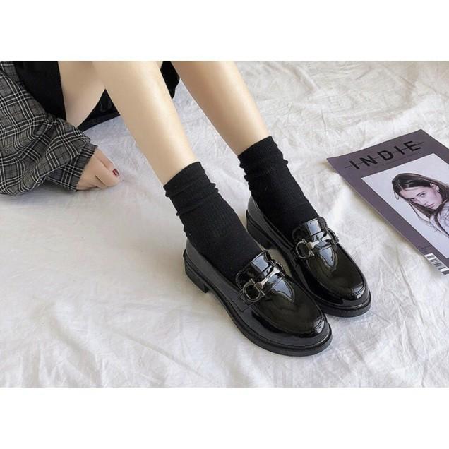 Giày bốt nữ, giày da phong cách giá rẻ