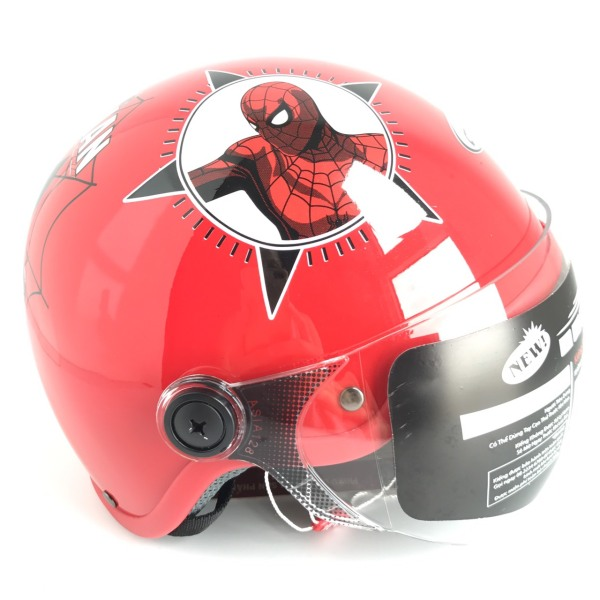 Giá bán Mũ bảo hiểm trẻ em siêu đẹp - Dành cho bé trai từ 3 đên 6 tuổi - Vòng đầu 50-52cm - MT103KS - Spider Man