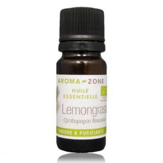 Tinh Dâ u Sả Chanh Aroma Zone - Essential Oil Lemongrass Organic 10ml thumbnail