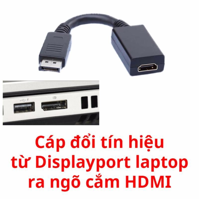 Bảng giá Cáp chuyển tín hiệu từ Displayport ra HDMI cho laptop (Đen) Phong Vũ