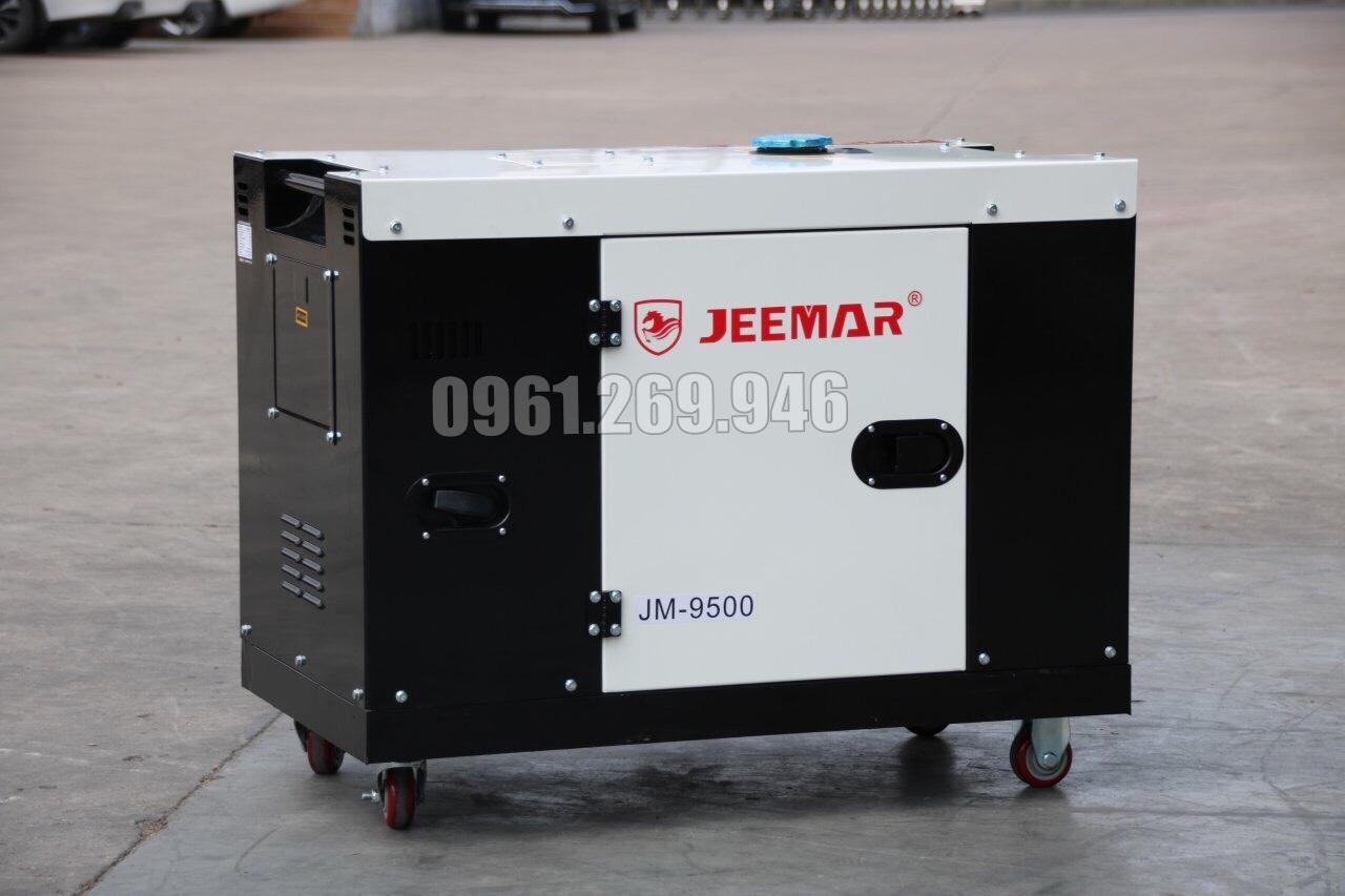 Máy phát điện dầu 7kw JEEMAR JM9500 vỏ chống ồn