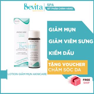 Lotion giảm mụn bọc, mụn mủ, giảm sưng viêm Aknicare Treatment Lotion 25ml - Bevita thumbnail