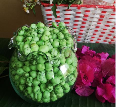 Đậu hà lan wasabi- mù tạt- Túi 5 kg- giá sỉ