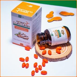 Viên nang Nano Curcumin OIC (30 viên) hỗ trợ điều trị viêm loét dạ dày, viêm loét hành tá tràng, trào ngược thumbnail