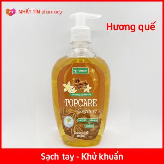 Gel rửa tay sạch khuẩn TOPCARE Organic Hương quế thơm mát 500ml - NHẤT TÍN PHARMACY thumbnail