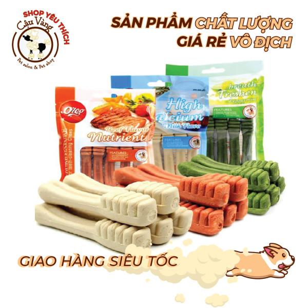 Xương gặm orgo Sạch răng - Thơm miệng - bổ sung Canxi cho chó