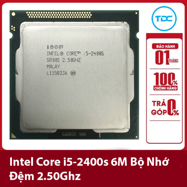 Bảng giá Bộ vi xử lý Intel CPU Core i5 2400s 3.30GHz ,65w 4 lõi 4 luồng, 6MB Cache Socket Intel LGA 1155 Phong Vũ