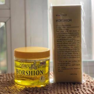 Sáp Gel Wax lạnh tẩy lông Horshion 750ml Tặng kèm 1 Bịch 100 Miếng giấy wax thumbnail
