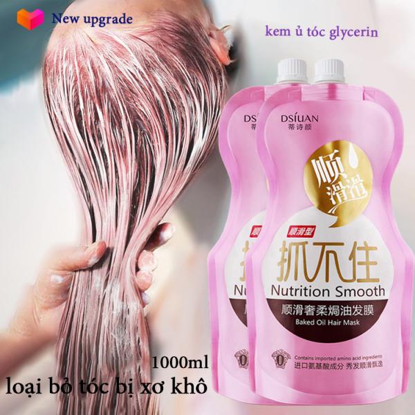 Hair Styling KEM Ủ TÓC PHỤC HỒI 【hai chai】 Xịt dưỡng tóc Double Rich chăm sóc tóc khô sơ hư tổn mọc tóc nhanh nhơn cao cấp