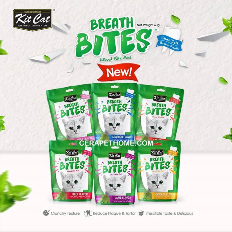 Snack Bánh Thưởng Cho Mèo Breath Bites