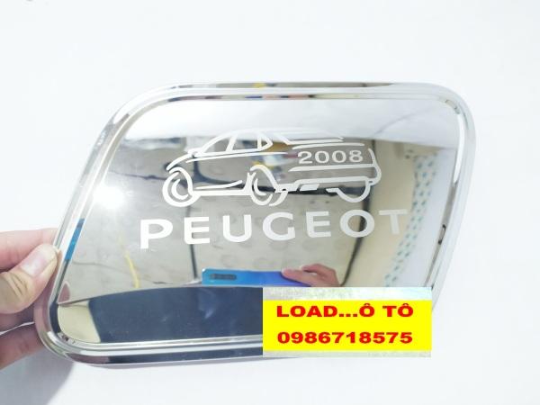 Ốp Nắp Xăng Peugeot 2008 Inox Cao Cấp